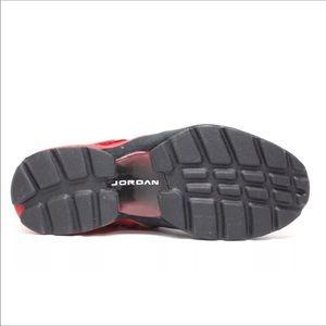 Nike Shoes - Nike Air Jordan Trunner in Red, Black and White.
